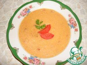 Рецепт Гороховый крем-суп цвета солнца