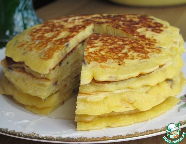 Рецепт: Блины с рисом Акватика на завтрак