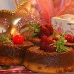 Пирожное Бизкошокофлан