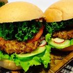 Гамбургеры с диким рисом