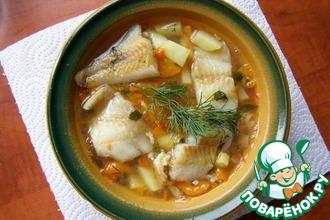 Рецепт: Суп рыбный диета № 5