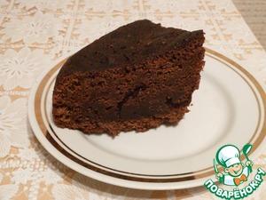 "Рецепт Бисквит ""шоколад на кипятке"" в мультиварке"