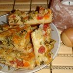 Пирожок осенний сырный