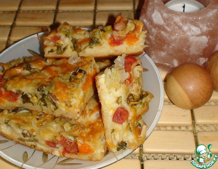 Рецепт: Пирожок осенний сырный