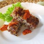 Террин с диким рисом и томатным соусом