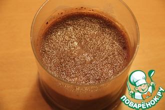 Рецепт: Шоколадный соус ФИТ-Экспресс