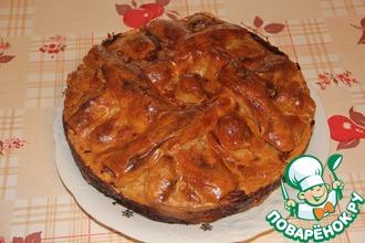 Рецепт: Пирог мясной Фантазия