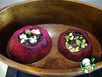 Фаршированная свекла в гранатовом соусе ингредиенты