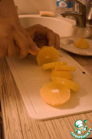 Апельсиновый десерт – кулинарный рецепт