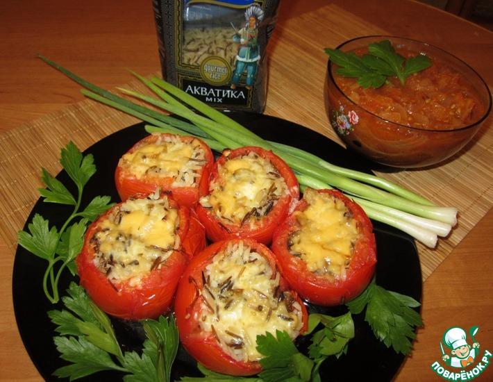 Рецепт: Фаршированные помидоры Дикие бомбочки