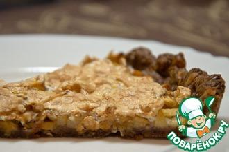 Рецепт: Пирог Яблочная слеза