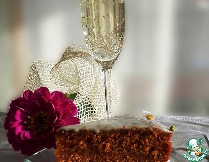 Рецепт: Пряный медовый пирог для Белки
