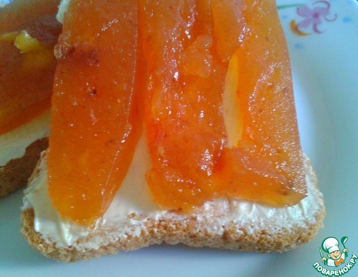 Рецепт: Персиковый джем-мармелад