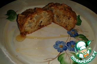 Рецепт: Овсяный кекс с грушей