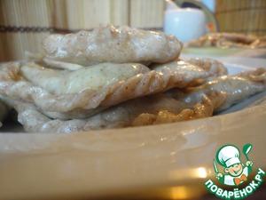 Рецепт Кубанские вареники с сыром и тесто со ржаной цельнозерновой мукой для них