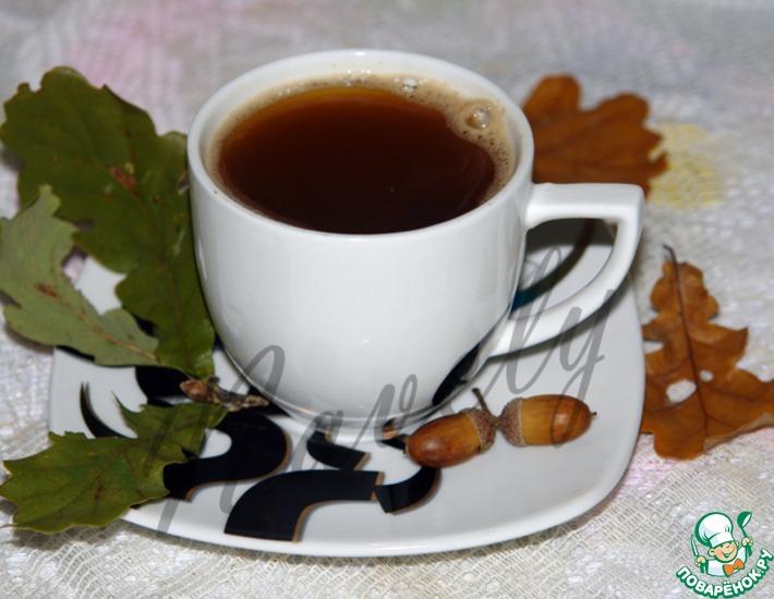 Рецепт: Кофейный напиток из желудей