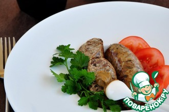 Рецепт: Гурка-закарпатская колбаса