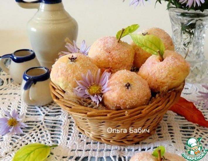 Рецепт: Печенье Яблочки детства