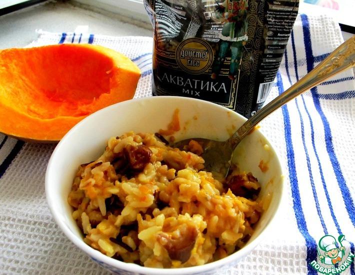 Рецепт: Каша из риса и булгура 1000 и одна ночь