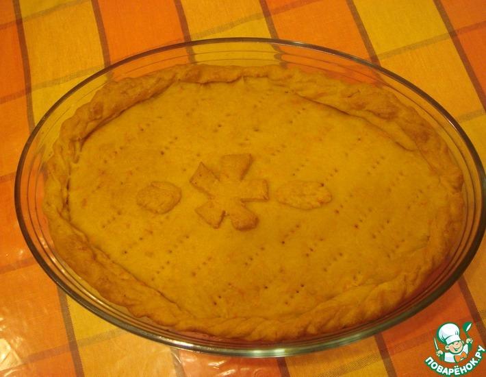 Рецепт: Овощной пирог Рыжик