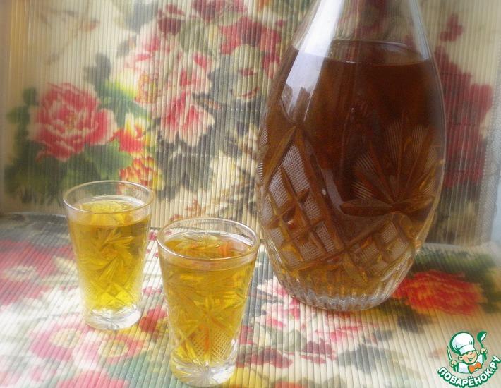 Рецепт: Крепкая настойка на меду