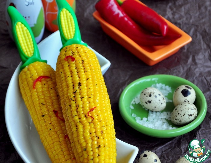 Рецепт: Кукуруза почти по-мексикански
