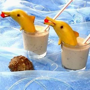 Фото: Банановый коктейль