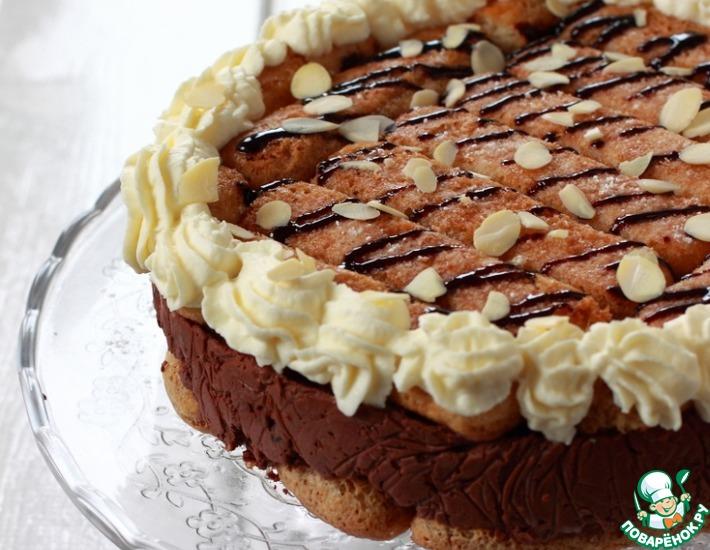 Рецепт: Торт Снегурочка
