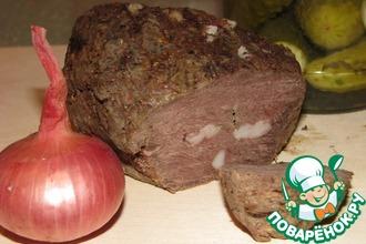 Рецепт: Мясо Вместо колбасы