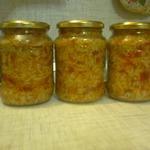 Салат консервированный с рисом