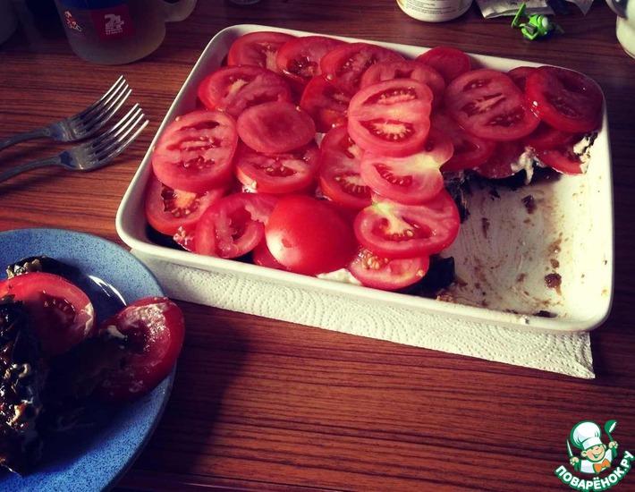 Рецепт: Баклажанный пирог
