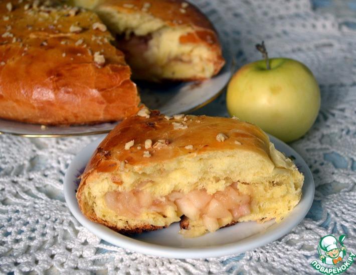 Рецепт: Яблочное кольцо