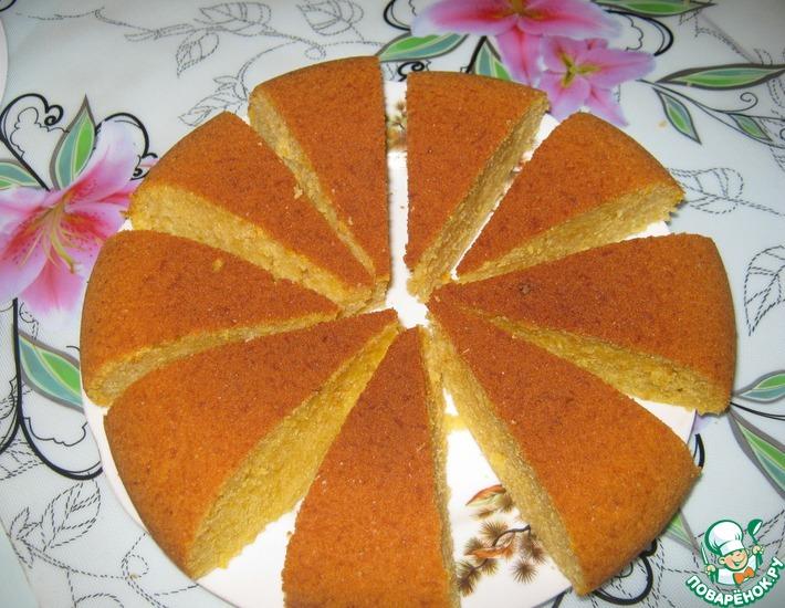 Рецепт: Тыквенный кекс в мультиварке