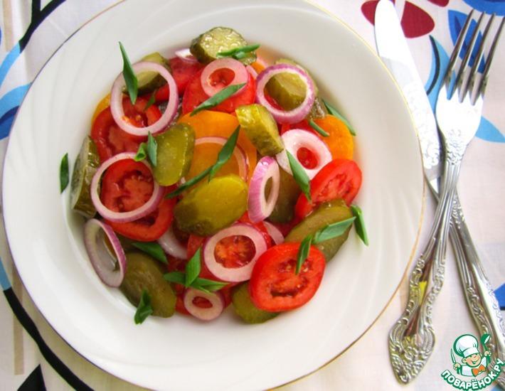 Рецепт: Салат Проще простого