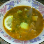 Суп из чечевицы с томатом