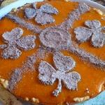 Сладкий пирог с тыквой