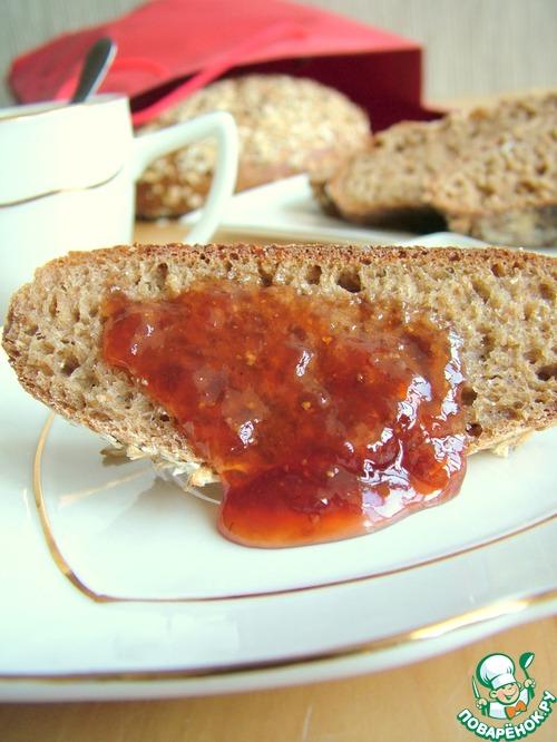 100% цельнозерновой хлеб – кулинарный рецепт
