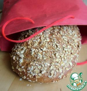 Рецепт 100% цельнозерновой хлеб