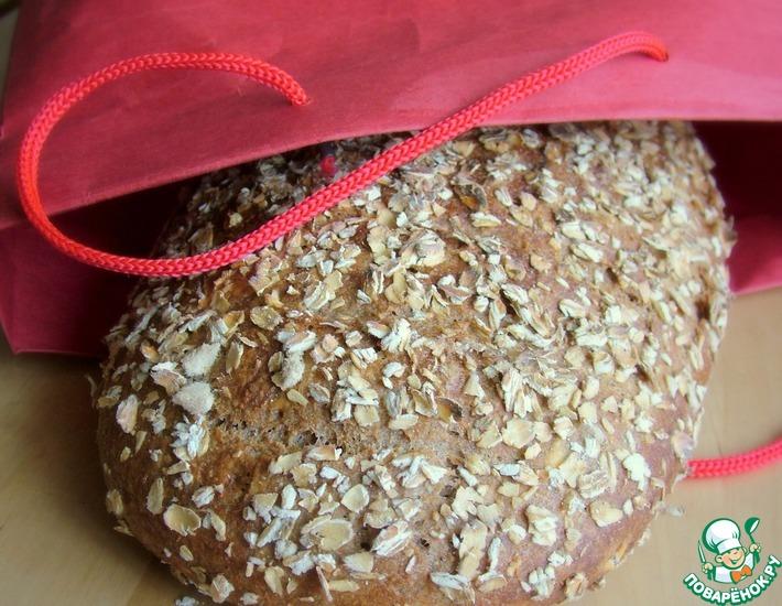 Рецепт: 100% цельнозерновой хлеб