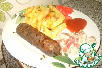 Рецепт: Колбаски Из сказки