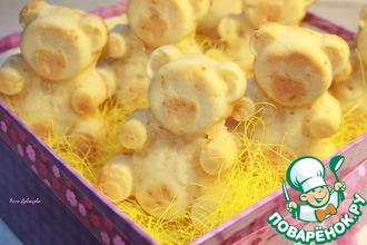 Рецепт: Домашние кексы Мишки Барни