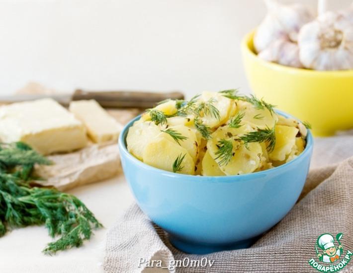 Рецепт: Картофель в молоке