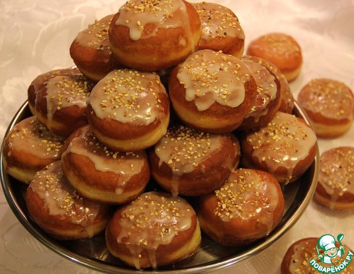 Рецепт: Пончики самые нежные