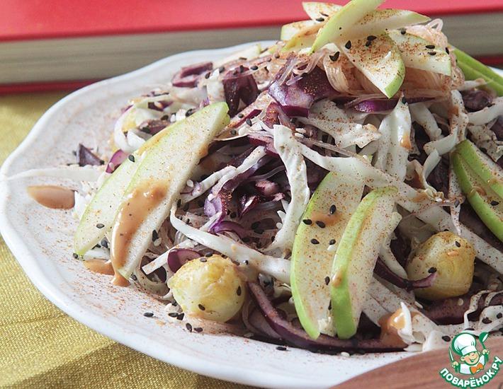 Рецепт: Витаминный салат Новый взгляд