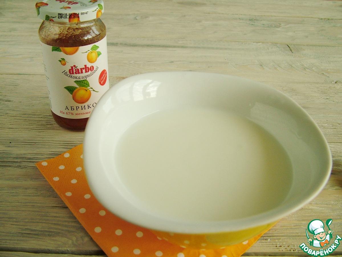 Низкокалорийное абрикосово-йогуртовое мороженое
