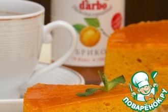Рецепт: Абрикосово-тыквенный кекс без выпечки