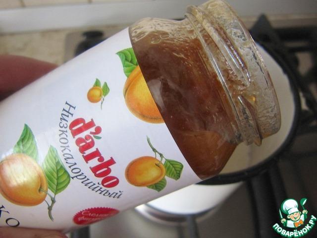 Воздушный абрикосовый мусс