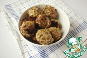 Рецепт: Мясные шарики с миндалём