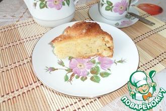 Рецепт: Пирог с яблоками Воздушный