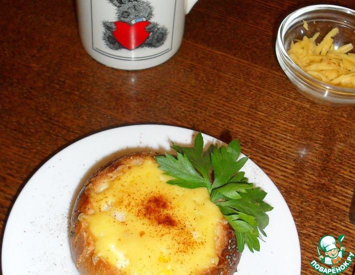 Яйца в булочках на завтрак – кулинарный рецепт